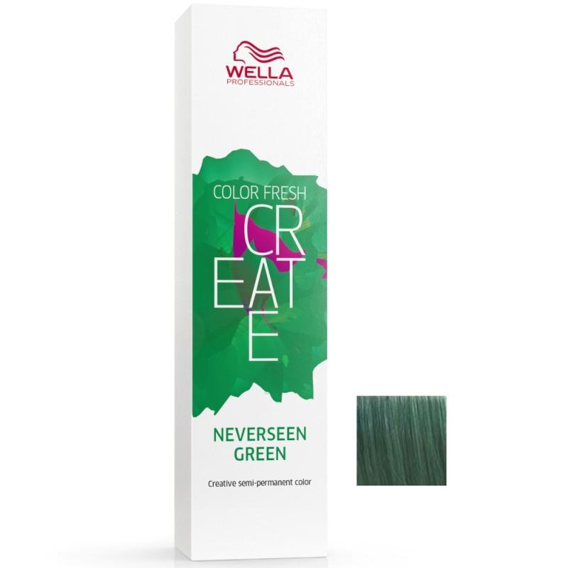 Wella Color Fresh CREATE Neverseen Green 60 ml