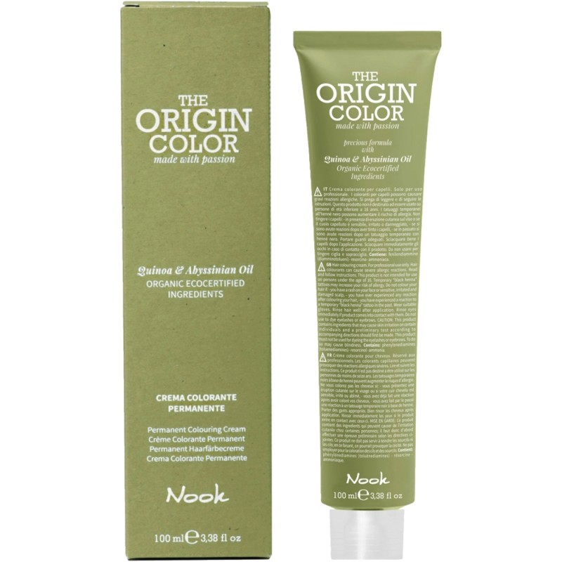 Nook The Origin Color 6.13 dunkelblond beige 100 ml