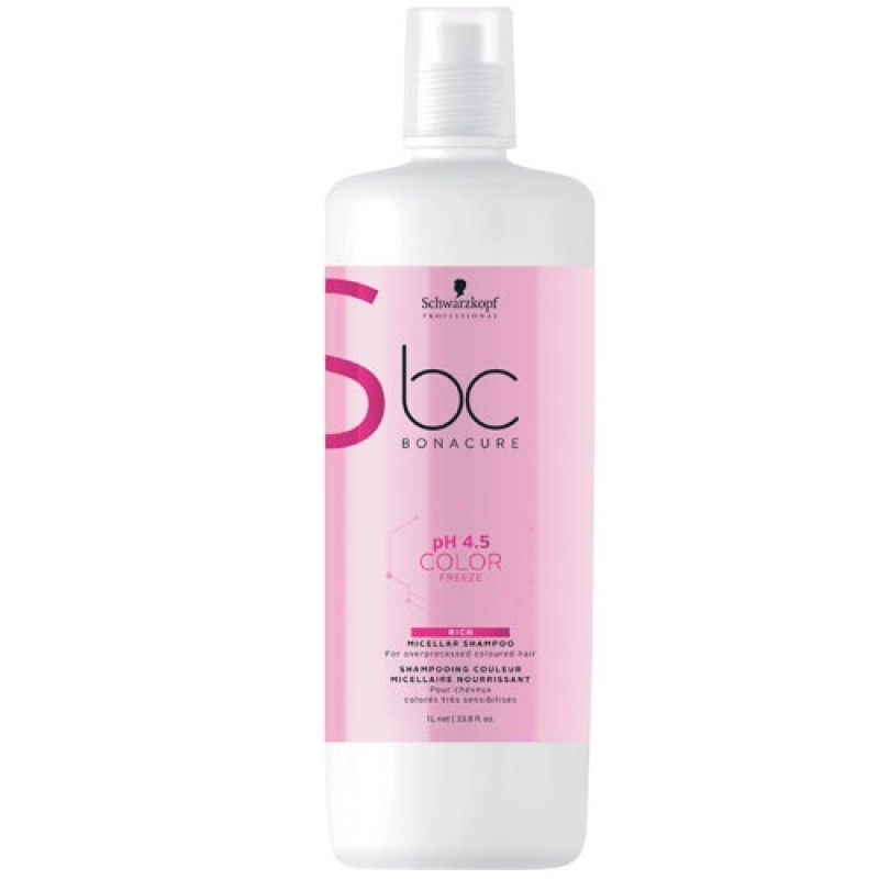 Schwarzkopf BC Bonacure pH 4.5 Color Freeze Rich Shampoo 1000 ml