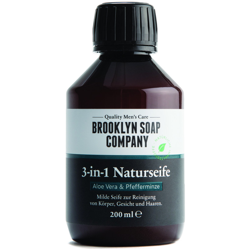 Brooklyn Soap Co. 3 in 1 Naturseife 200 ml