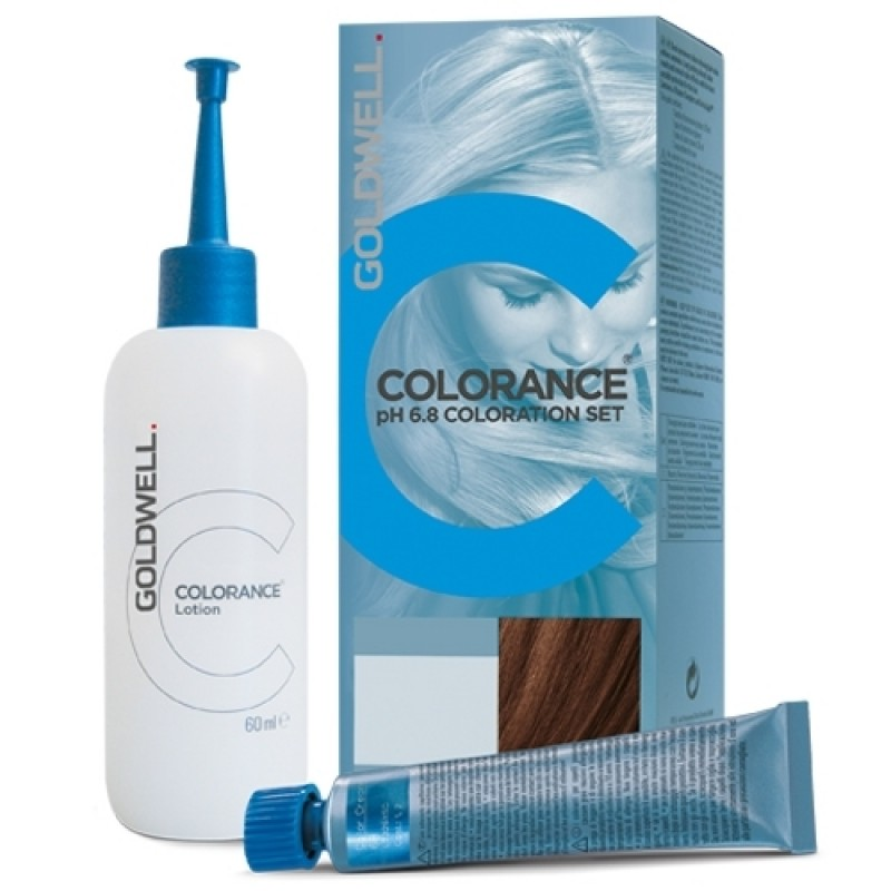 Goldwell Colorance pH 6,8 Tönungsset 7/G Haselnuss