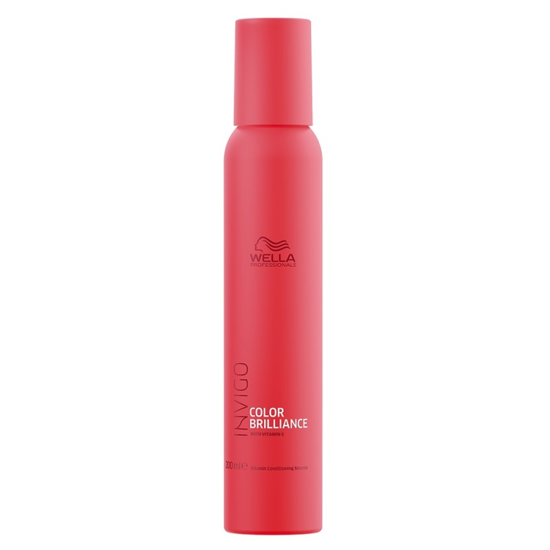 Wella Invigo Colour Brilliance Vitamin Conditioning Mousse 200 ml