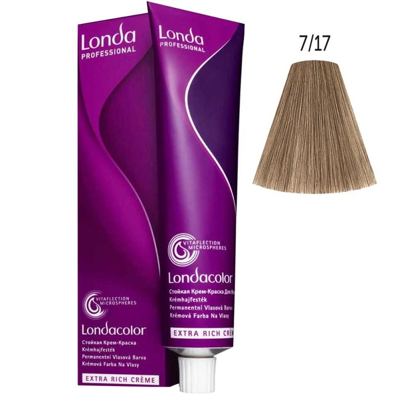 Londa Color 7/17 Mittelbraun asch-braun 60 ml