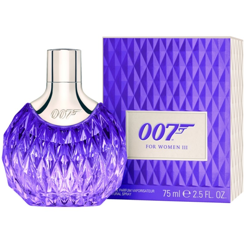 James Bond 007 For Women III EdP Natural Spray 75 ml