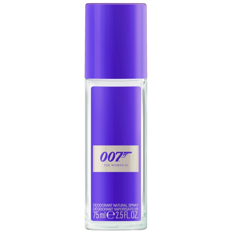 James Bond 007 For Women III Deo Natural Spray 75 ml