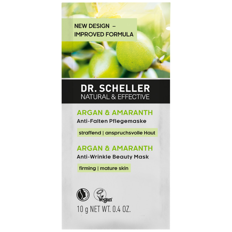 Dr. Scheller Argan & Amaranth Anti Falten Pflegemaske 10 ml