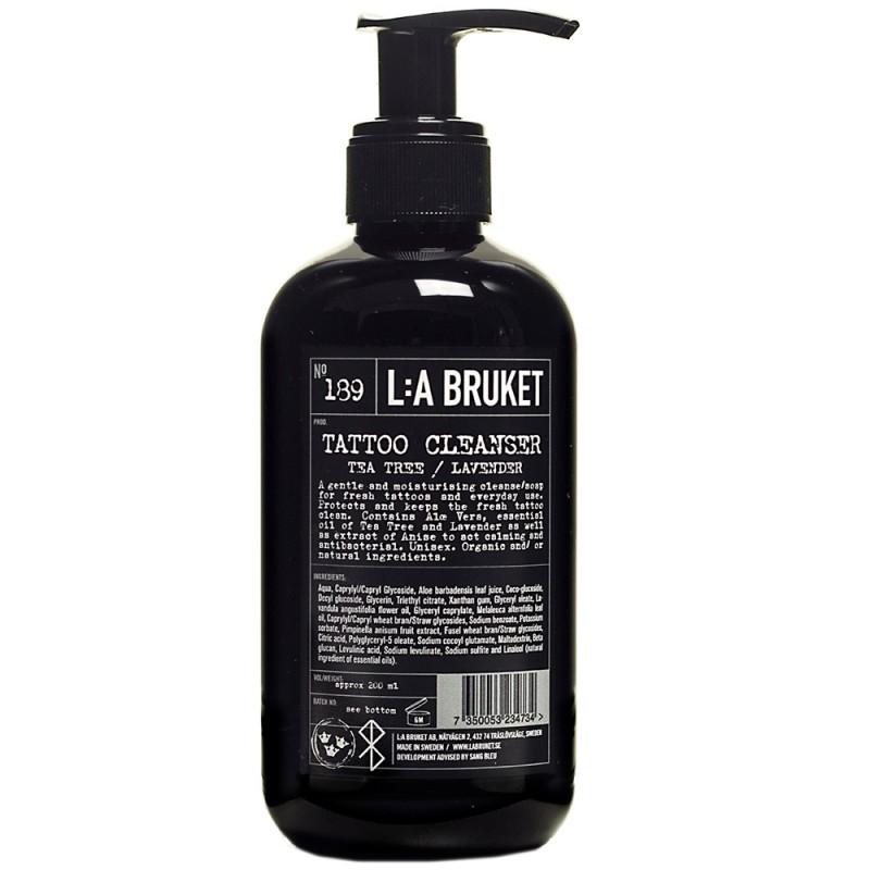 L:A BRUKET No.189 Tattoo Cleanser 200 ml