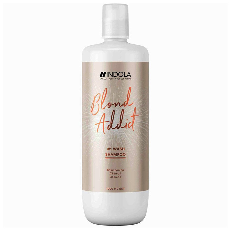 Indola Blonde Addict Shampoo 1000 ml