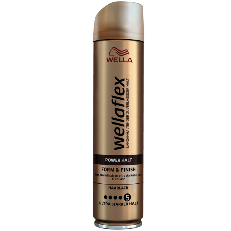 Wella Wellaflex Power Halt Form & Finish Haarlack 250 ml