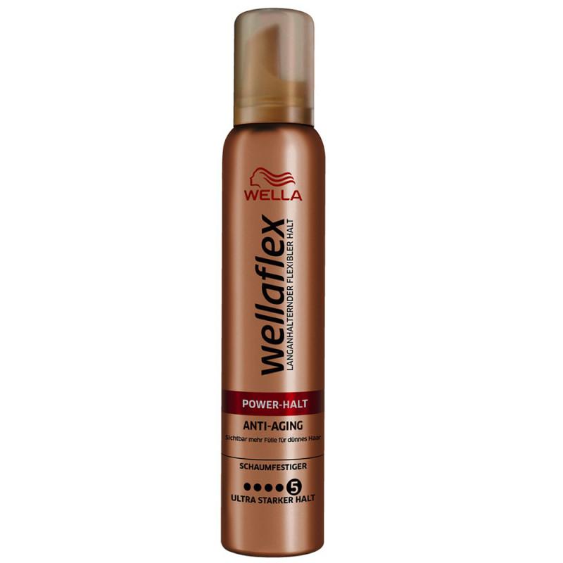 Wella Wellaflex Power Halt Anti-Aging Schaumfestiger 200 ml