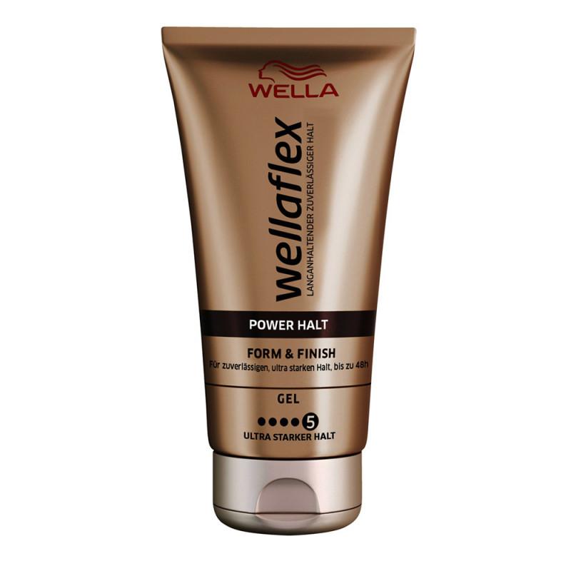 Wella Wellaflex Power Halt Form & Finish Gel 150 ml
