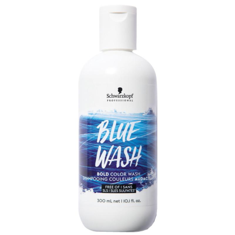 Schwarzkopf Bold Color Wash Blue 300 ml