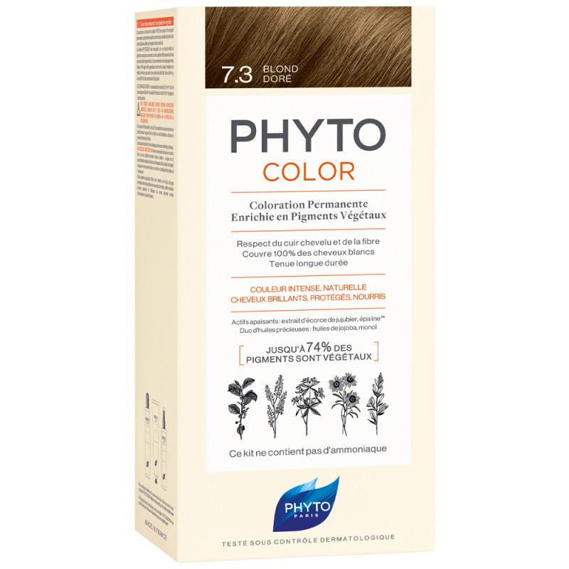 Phyto Phytocolor 7.3 Goldblond Kit