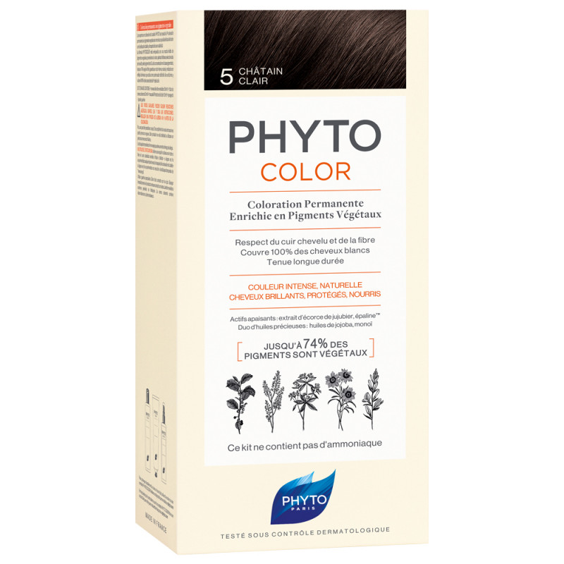 Phyto Phytocolor 5 Helles Braun Kit