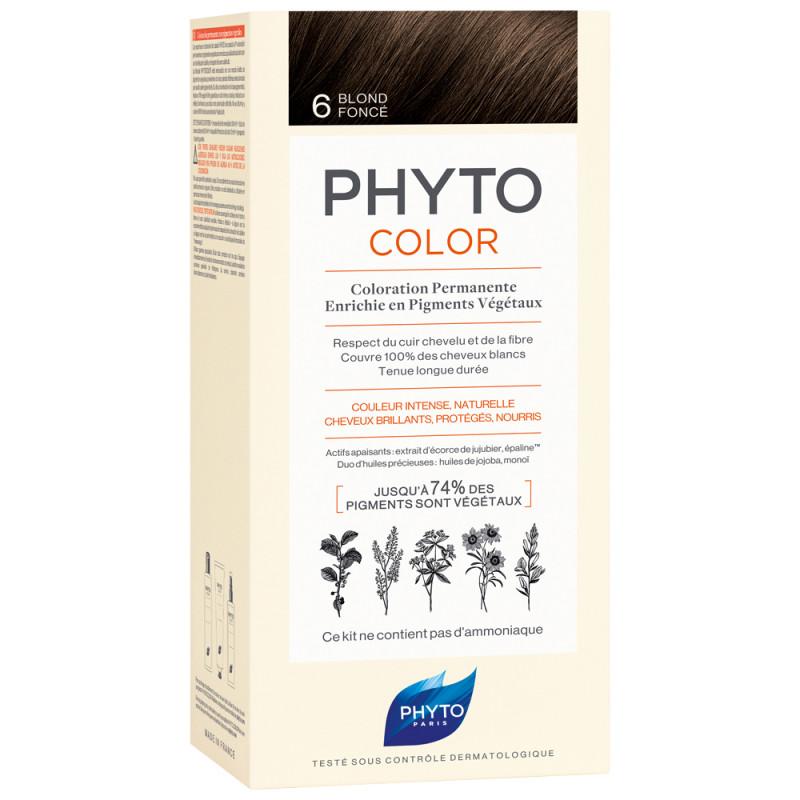 Phyto Phytocolor 6 Dunkelblond Kit
