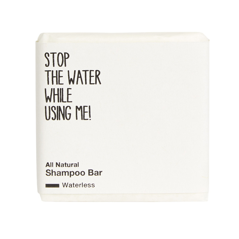 Stop the water while using me! All Natural Shampoo Bar 75 g