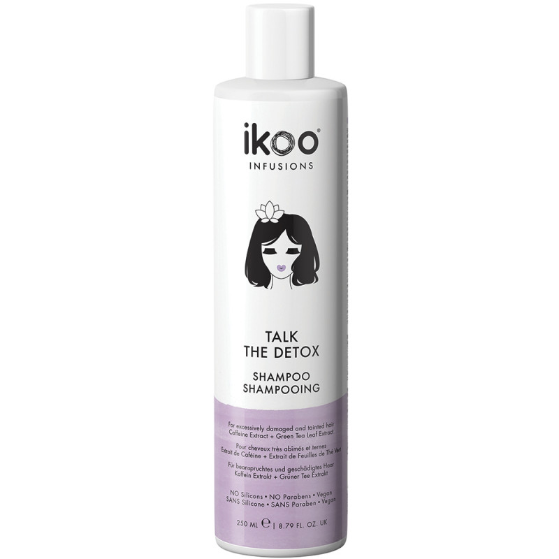 ikoo Infusions Talk the Detox Shampoo 250 ml