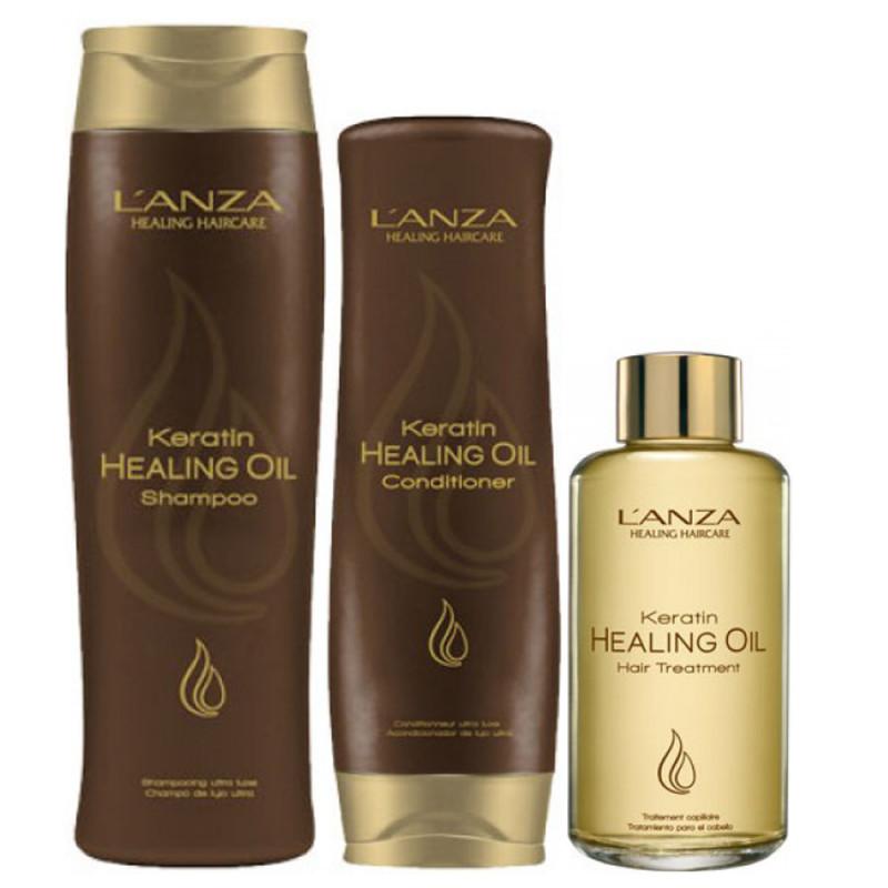 Lanza Healing Keratin Oil Set