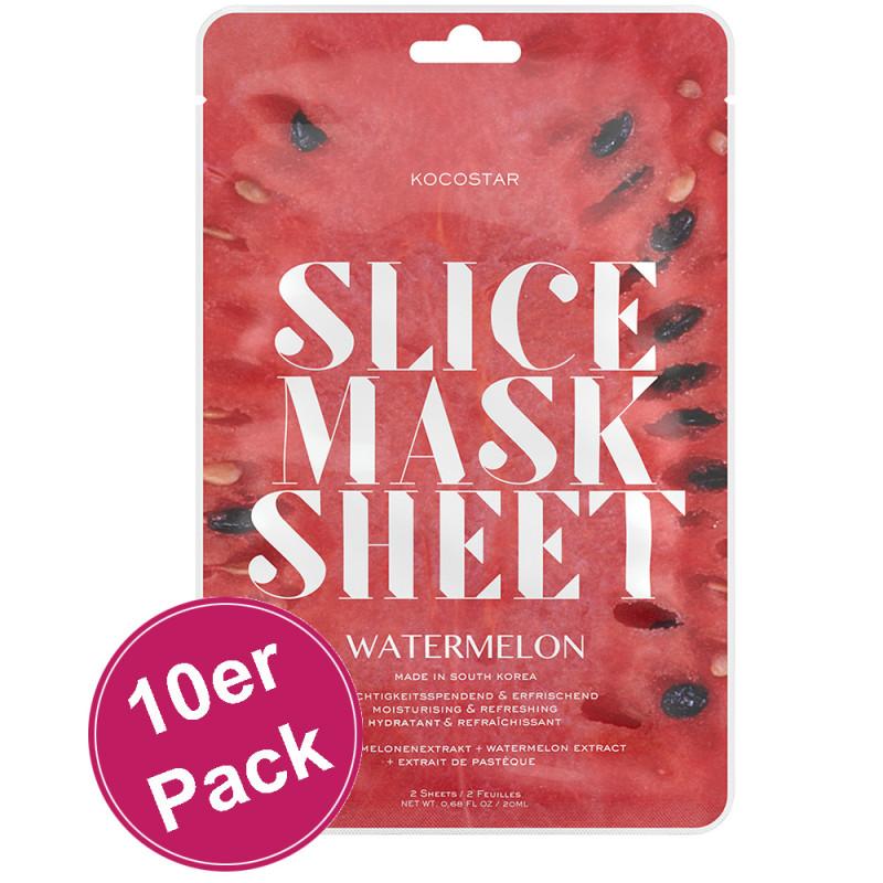 Kocostar Slice Mask Sheet Watermelon 10er Pack