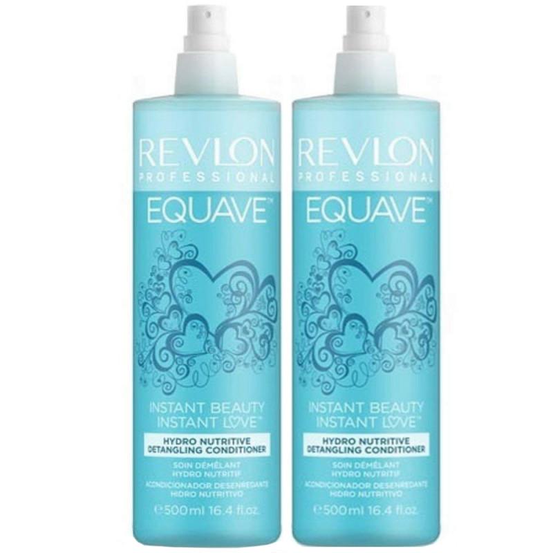 Revlon Equave Instant Beauty Hydro Nutritive Detangling Conditioner 2 x 500 ml