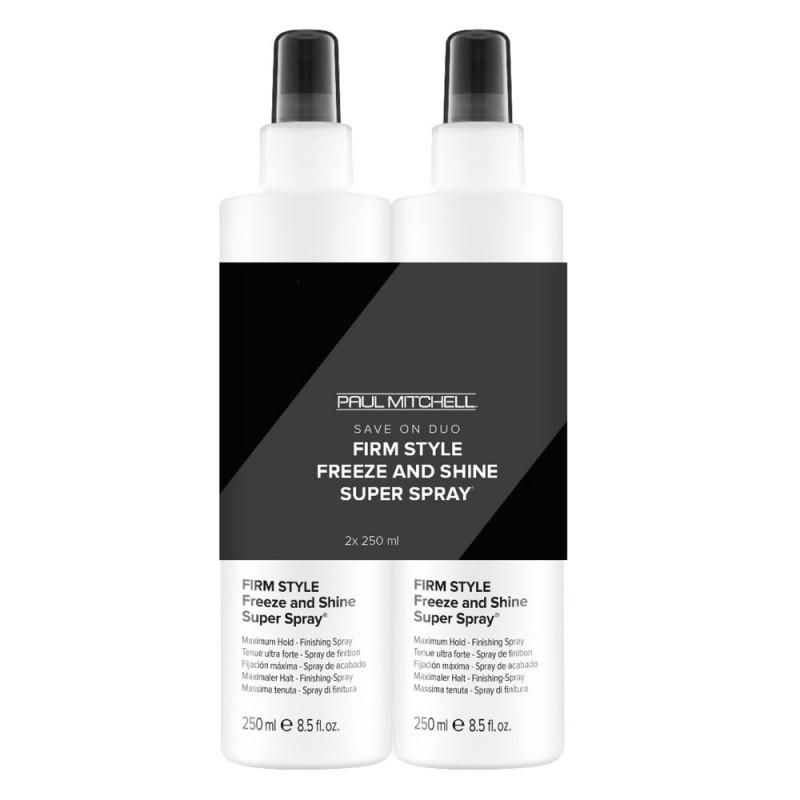 Paul Mitchell Firm Style Freeze & Shine Super Spray Duo 2x 250 ml