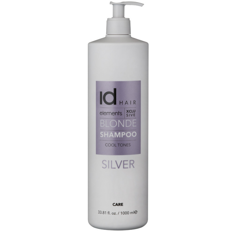 Id Hair Elements Xclusive Blonde Silver Shampoo 1000 ml