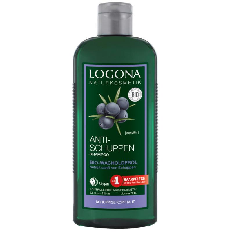 LOGONA Anti-Schuppe Shampoo Bio-Wacholder 250 ml