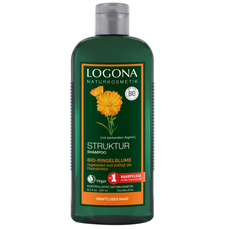 LOGONA Struktur Shampoo Bio-Ringelblume 250 ml