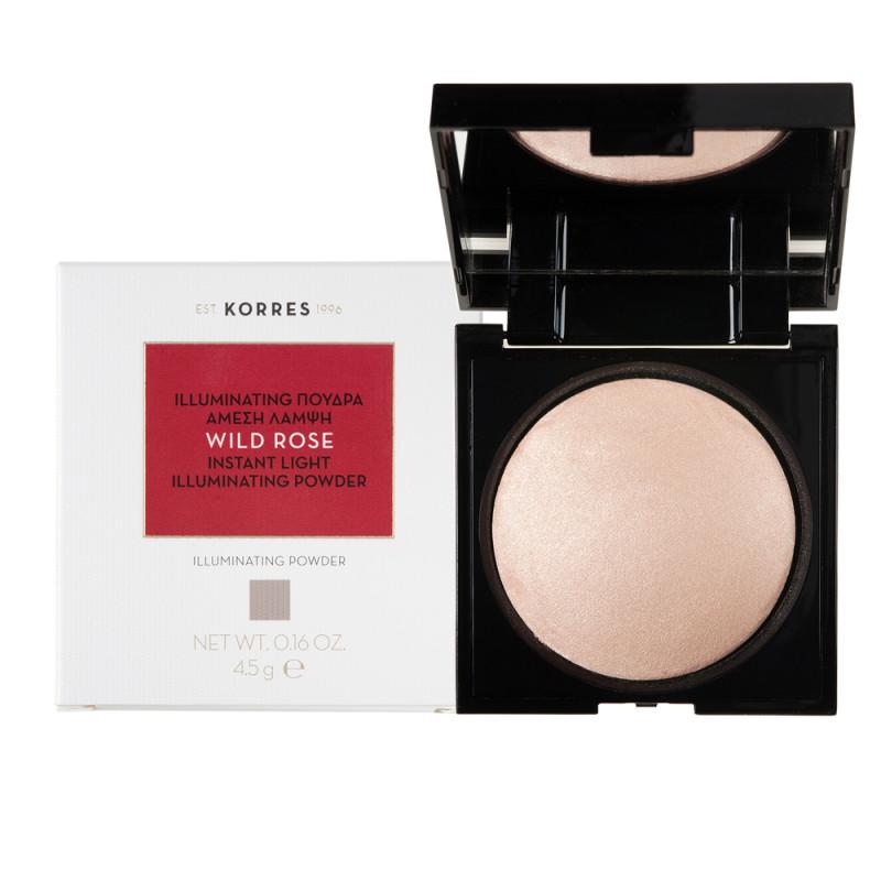 Korres Wild Rose Puder Highlighter 4,5 g