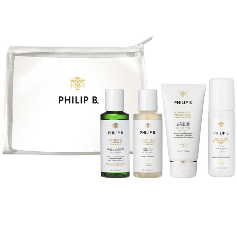 Philip B. Weightless Travel Set