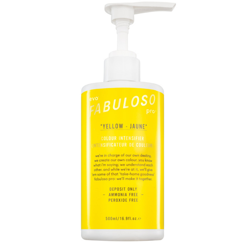 evo Fabuloso Pro Colour Intensifying Conditioner Yellow 500 ml