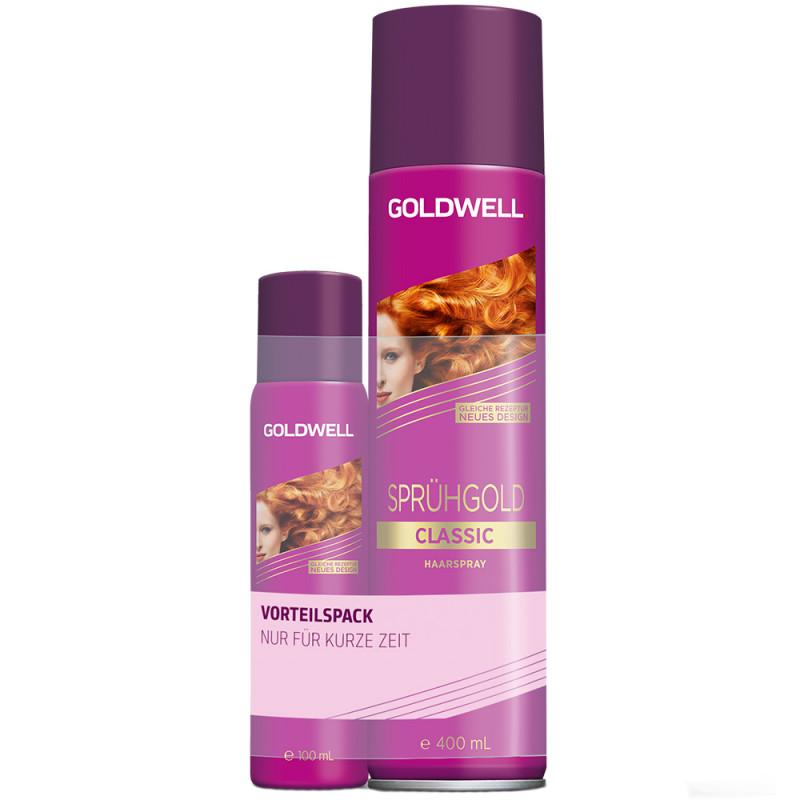 Goldwell Sprühgold Classic Spray 400 ml + Gratis 100 ml
