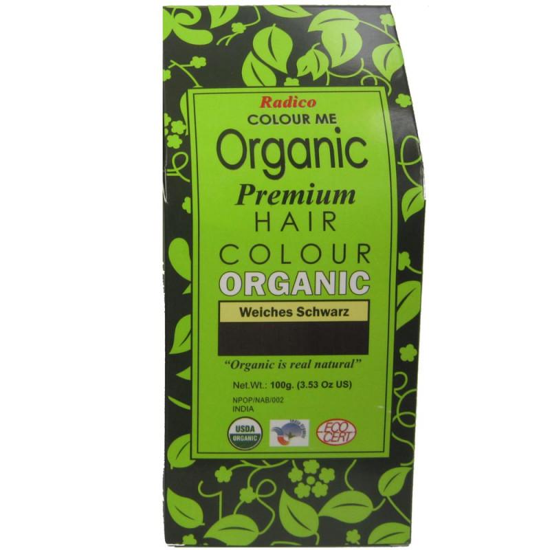 Radico Colour Me Organic Soft Black 100 g