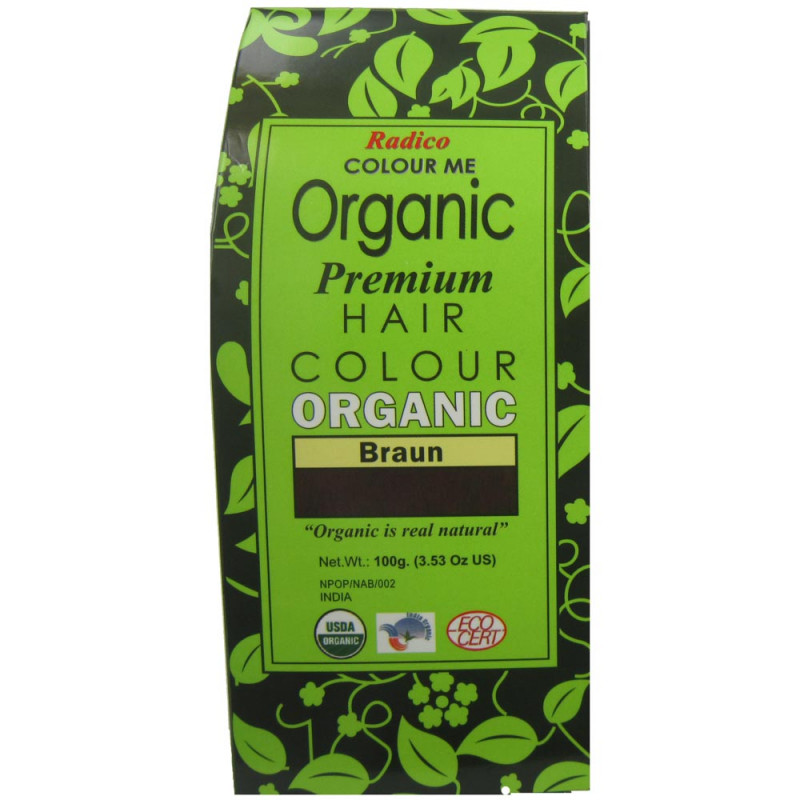 Radico Colour Me Organic Brown 100 g