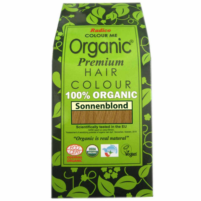 Radico Colour Me Organic Golden Blonde 100 g