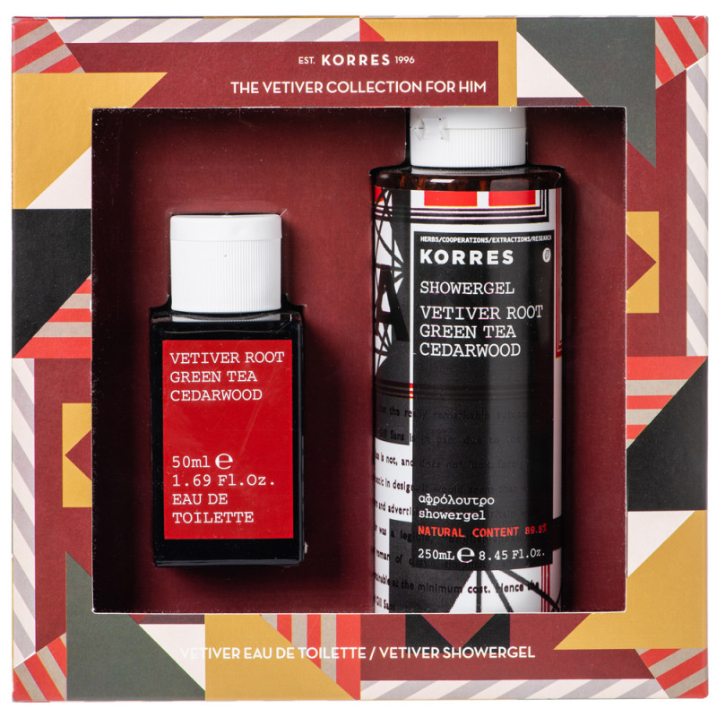 Korres The Vetiver Collection - Für Ihn