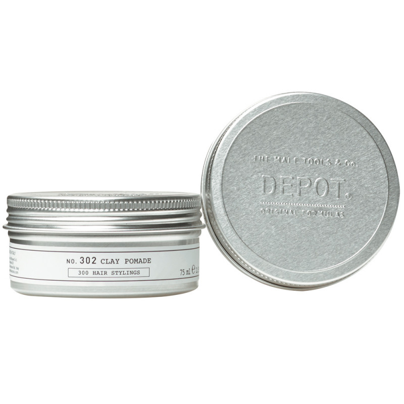 DEPOT 302 Clay Pomade 75 ml