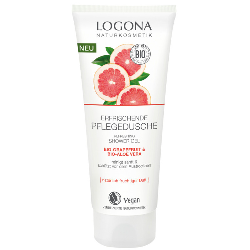 LOGONA Pflegedusche Grapefruit & Aloe Vera 200 ml