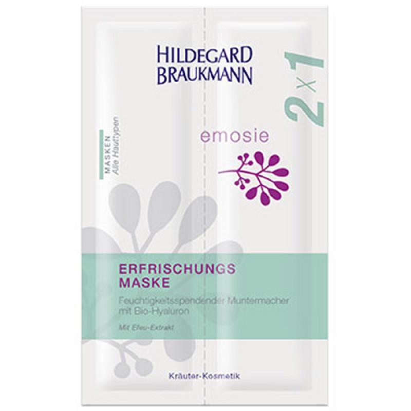 Hildegard Braukmann emosie Erfrischungsmaske 2x7 ml