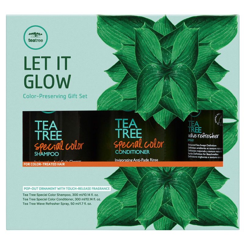 Paul Mitchell Let It Glow Gift Set - Tea Tree Special Color
