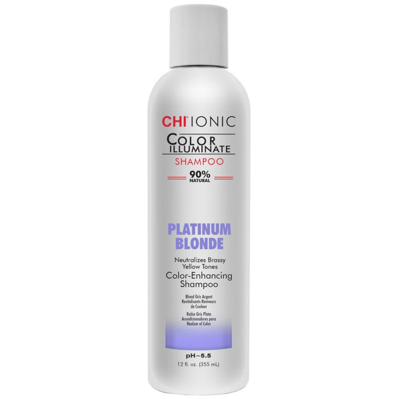 CHI Ionic Color Illuminate Shampoo platinum blonde 355 ml
