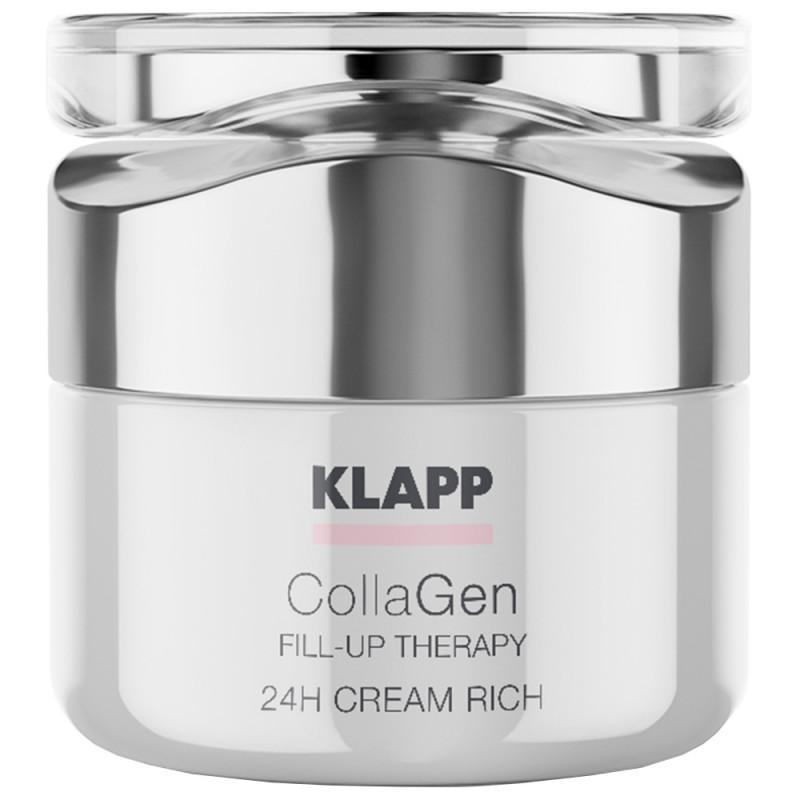 Klapp Cosmetics CollaGen 24h Creme rich 50 ml