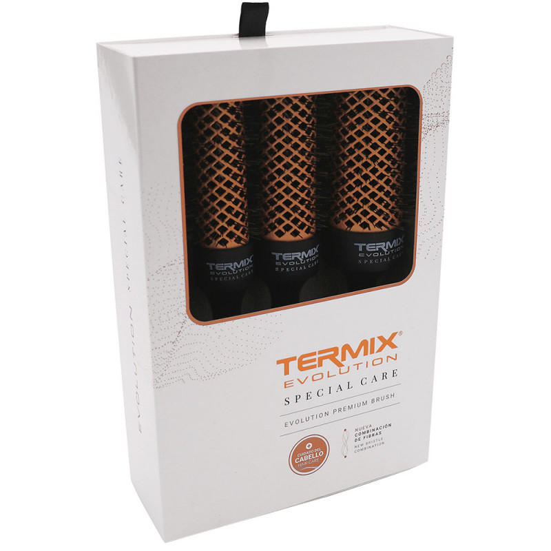 Termix Evolution Special Care 4er-Pack Rundbürsten TX1184