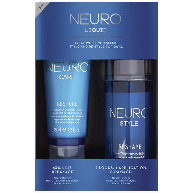 Paul Mitchell Neuro Liquid Repair and Restyle Kit
