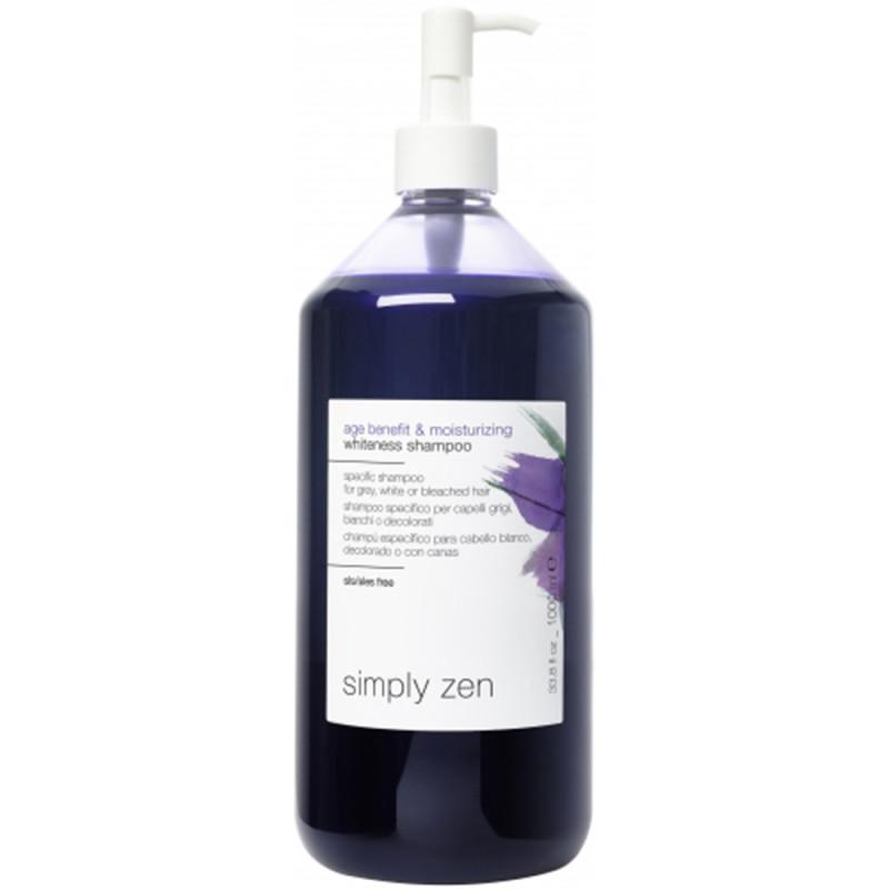 Simply Zen Age Benefit & Moisturizing Whiteness Shampoo 1000 ml
