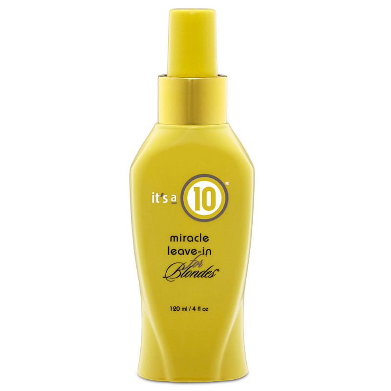 It's a 10 Miracle Leave-In Conditioner for Blondes 120 ml