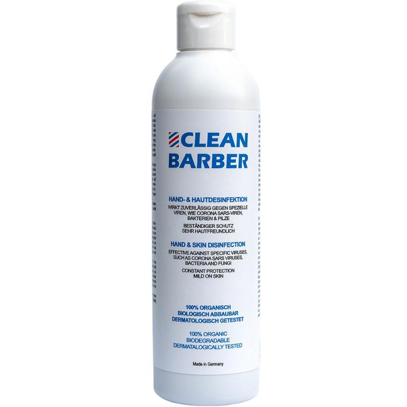 Clean Barber Hand- und Hautdesinfektionsgel 250 ml