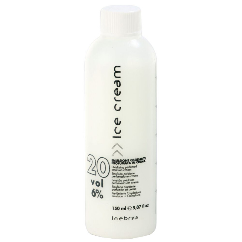 Inebrya Ice Cream Creme Oxyd 6% 150 ml