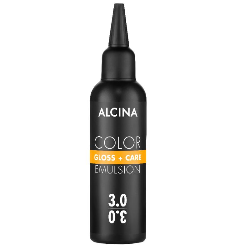 Alcina Color Gloss + Care Emulsion 3.0 dunkelbraun 100 ml