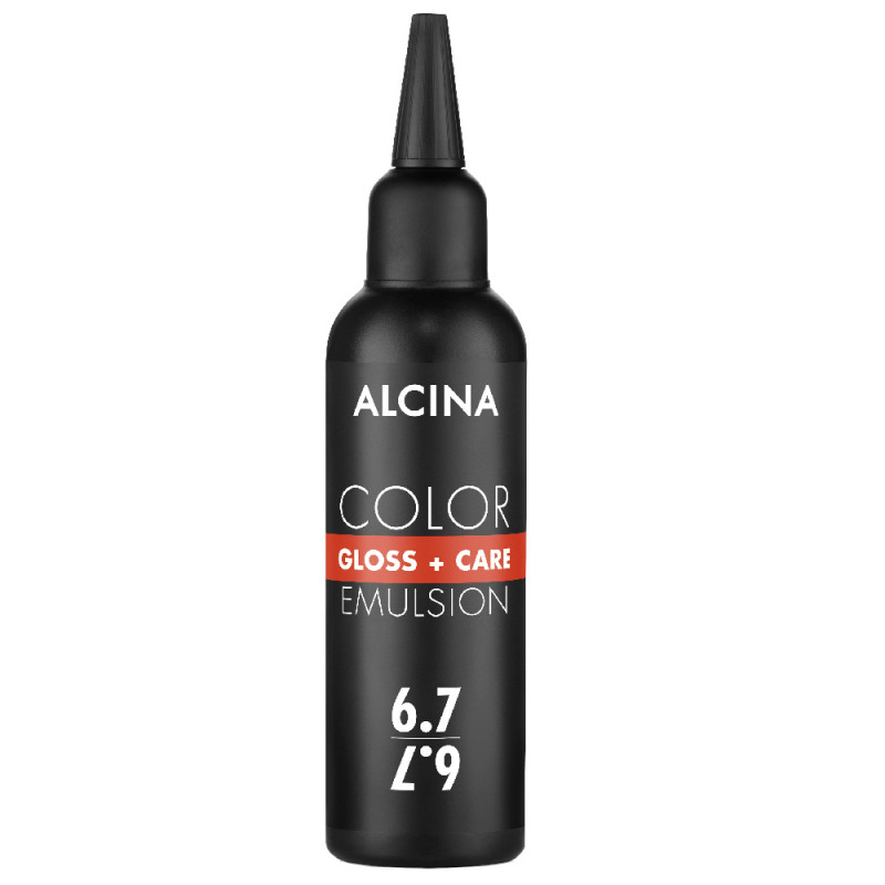 Alcina Color Gloss + Care Emulsion 6.7 dunkelblond-braun 100 ml